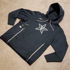 Vanderbilt Nike On Field Black Hoodie Sweatshirt